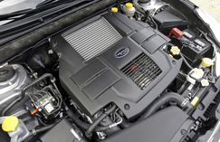2.5 GT Engine Compartment