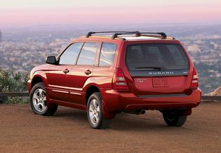 Forester Production: 1998-Present   Based on the Impreza chassis with the 2.5-liter BOXER engine from the Legacy and Outback models   The original trim levels were standard, L, and S Forester came standard with roof rails   Ground Clearance was 7.5