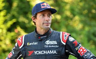Travis Pastrana at the New England Forest Rally