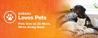 Subaru of America reaffirms commitment to pets in need during October