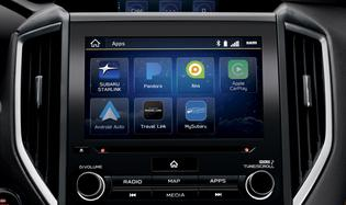 2019 Crosstrek Apple CarPlay and Android Auto