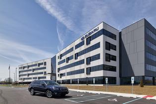 Subaru of America's new corporate headquarters is 100% Green Power certified by the U.S. Environmental Protection Agency, and a Zero-Landfill facility with all waste recycled or reused. It is also expected to be LEED Certified by the U.S. Green Building Council. Photo credit: © Jeffrey Totaro, 2018.