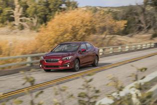 2018 Subaru ImprezaLimited-Sedan-red