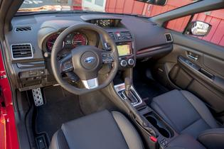 2015 Subaru WRX. Interior. (May, 2014)