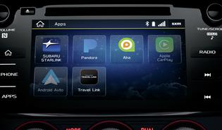 2019 WRX STI STARLINK Multimedia with Apple CarPlay and Android Auto