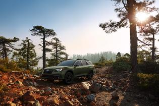 Subaru Debuts All-New 2020 Outback at NYIAS. Pictured: 2020 Subaru Outback Onyx Edition XT