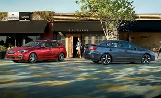 2019 Impreza Limited 5-Door and Impreza 2.0i Sport Sedan