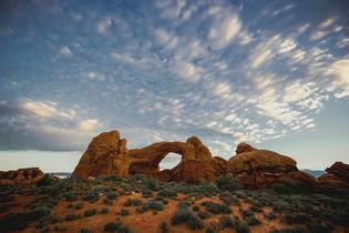 Arches National Park in Utah is home to more than 2,000 known arches. Courtesy of MacGillivray Freeman Films. Photographer: David Fortney ©VisitTheUSA.com