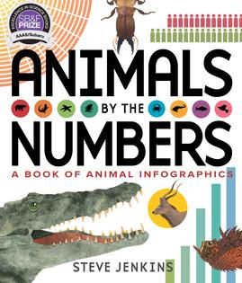 2018 AAAS/Subaru Children's Science Book Prize Winner: Animals by the Numbers: A Book of Animal Infographics, by Steve Jenkins. Houghton Mifflin Harcourt. 2016.