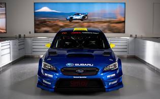 Oliver Solberg will compete in an Open 4WD-class 2019 Subaru WRX STI VT19r prepared by Vermont SportsCar.