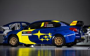 Oliver Solberg will be joined by British co-driver Aaron Johnston to compete for the 2019 American Rally Association (ARA) championship.