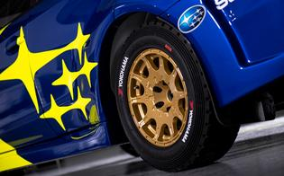 For 2019, Subaru Motorsports USA will return to the Subaru brand's traditional blue and yellow livery with gold wheels.