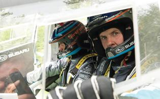 Subaru Rally Team USA Driver David Higgins