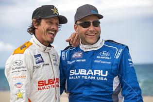 SRT USA Drivers Bucky Lasek and Sverre Isachsen
