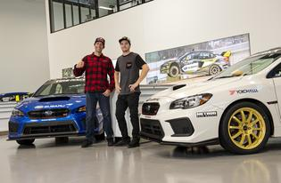 "Travis Pastrana and Blake ""Bilko"" Williams will take on the 2019 One Lap of America competition in matching Subaru WRX STI Type RA cars shod in Yokohoma ADVAN A052 tires."