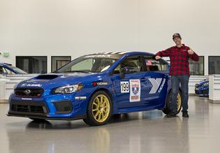 "Travis Pastrana will partner with ""Lone Survivor"" and fellow American Marcus Luttrell in the WR Blue WRX STI."