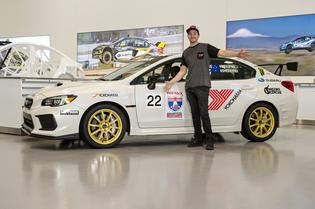 "Blake ""Bilko"" Williams, with Nitro Circus freestyle motocross rider Josh ""Sheeny"" Sheehan as co-driver, will form an all-Australian team in the Crystal White WRX STI."