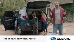 All-new 2019 Subaru Ascent Digital Spot: Car Chores