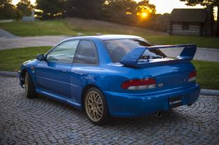 The Subaru Impreza 22B STI is one of the rarest & most sought after Subarus of all-time. Only 424 of these vehicles were produced & it was designed to commemorate Subaru's 40th Anniversary