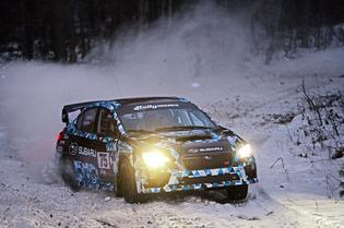Subaru Rally Team USA prepares for Sno*Drift Rally, the first round of the 2015 Rally America Championship.