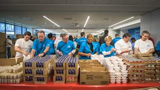 Subaru of America, Inc. kicks off 2018 Share the Love by hosting HQ event to help combat childhood hunger with Food Bank of South Jersey.