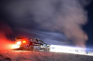 Subaru Rally Team USA will their 2015 WRX STI wrapped in a custom livery Jan 30-31 at Sno*Drift Rally held in Atlanta, MI.