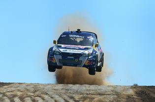 Travis Pastrana during Red Bull Global Rallycross at the Port of Los Angeles