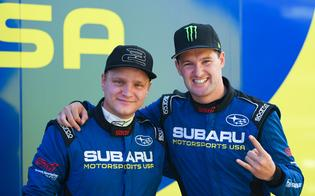 FIA World Rallycross drivers Andreas Bakkerud and Joni Wiman joined the Subaru team for the last two rounds of the ARX season following Scott Speed's injury at Nitro Rallycross, in a four-car effort aimed at pushing for the championship.
