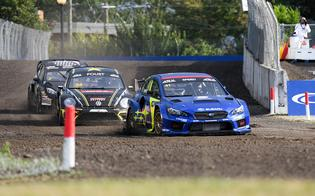 Scott Speed now leads rival Tanner Foust by five points for the ARX championship title with two rounds remaining.