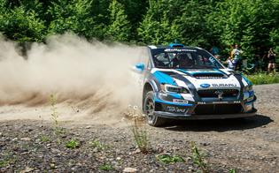 David Higgins sliding to victory at STPR 2015