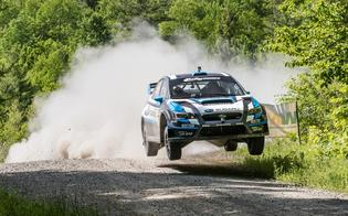 David Higgins takes to the air at STPR 2015