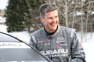 David Higgins at Rallye Perce Neige 2017