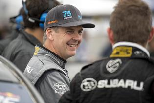 Defending Rally America Champion David Higgins at GRC Seattle