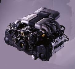 EG33 type 3.3litre Horizontally-Opposed 6 cylinder DOHC24valve