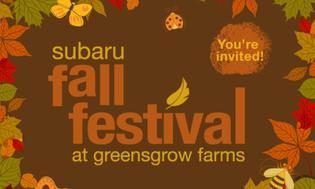 Subaru and Greensgrow Farms Partner to Celebrate the Season at the Subaru Fall Festival