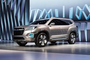 2016 Subaru Viziv 7 Suv Concept