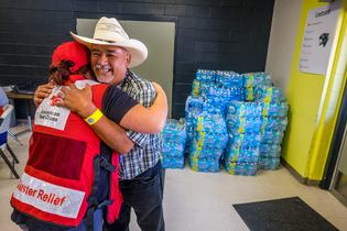 Subaru of America, Inc. Donates an Additional $100,000 to American Red Cross to Support Hurricane Harvey Relief Effort (Photo: American Red Cross)