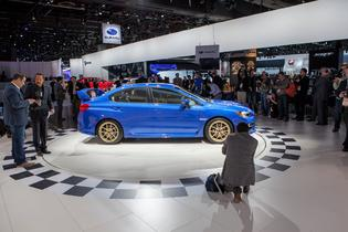 At the 2014 NAIAS in Detroit