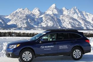 Subaru of America partners with the National Park Foundation to celebrate National Park Service centennial. Subaru previously donated Outback vehicles for use at four of America's national parks including Denali National Park and Preserve in Alaska. Photo credit: National Park Service.