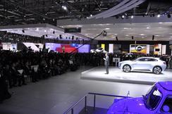 Subaru Geneva Auto Show stand