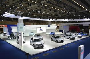 Press Day: Subaru Stand