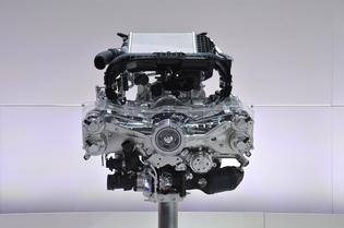 November 21, Press Day: 2.0-liter, DOHC, Horizontally-Opposed, Direct Injection Turbocharged, 4-cylinder, petrol engine display