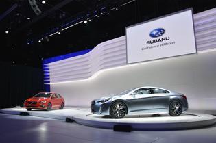 November 21, Press Day: Subaru Stand