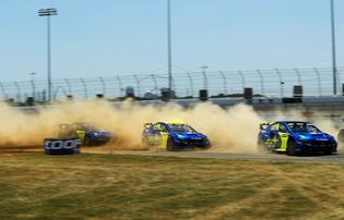 Subaru Motorsports USA has now swept all three events in the first half of the 2019 Americas Rallycross season, with each team driver notching a victory.