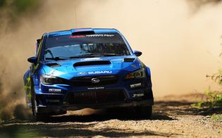 Subaru Motorsports USA put two cars on the podium at Minnesota's Muscatell Ojibwe Forests Rally, as David Higgins extended his American Rally Association championship lead with his third victory of the year.