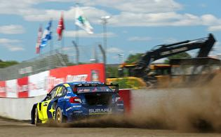 Speed led his semi-final heat from the first corner before a gearbox failure on the final lap dropped him to third.