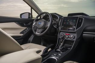 2017 Subaru Impreza -interior
