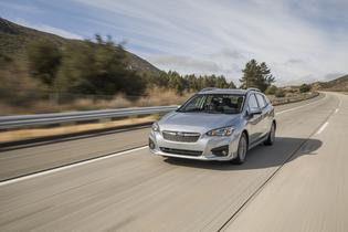 2017 Subaru Impreza Prem -in motion
