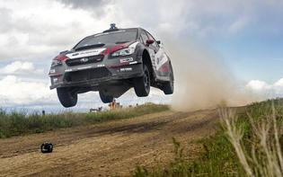 Pastrana & Edstrom go flat out during the 2016 Oregon Trail Rally.jpg