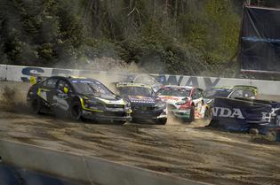 Patrik Sandell fends off challengers at GRC Seattle